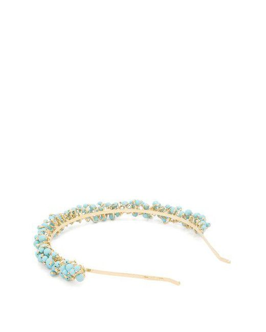 Rosantica Bouquet bead-embellished headband 3VIW4SZx