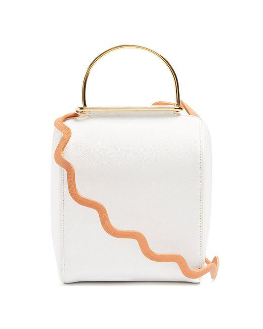 Roksanda - White Besa Top-handle Leather Shoulder Bag - Lyst