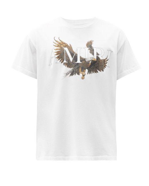メンズ Amiri イーグル コットンtシャツ White