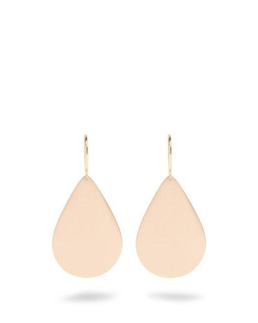 Irene Neuwirth - Metallic Rose-Gold Earrings - Lyst