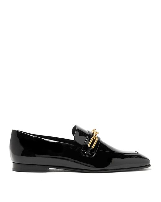 Burberry - Black Chillcot Patent Leather Loafers - Lyst