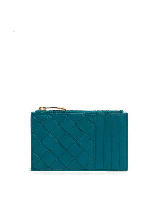 Bottega Veneta レザーカードケース Blue