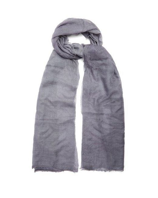 Title Of Work - Multicolor - Solid Cashmere Scarf - Mens - Grey for Men - Lyst