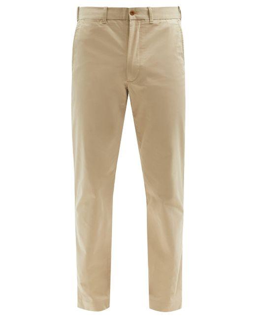 メンズ Polo Ralph Lauren コットンブレンドツイル ストレートチノパンツ Natural