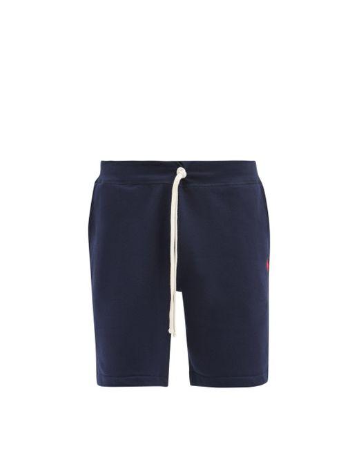 メンズ Polo Ralph Lauren ドローストリング コットンブレンドショートパンツ Blue