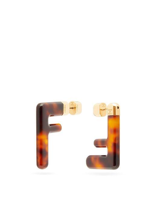 Fendi Ff ピアス Multicolor