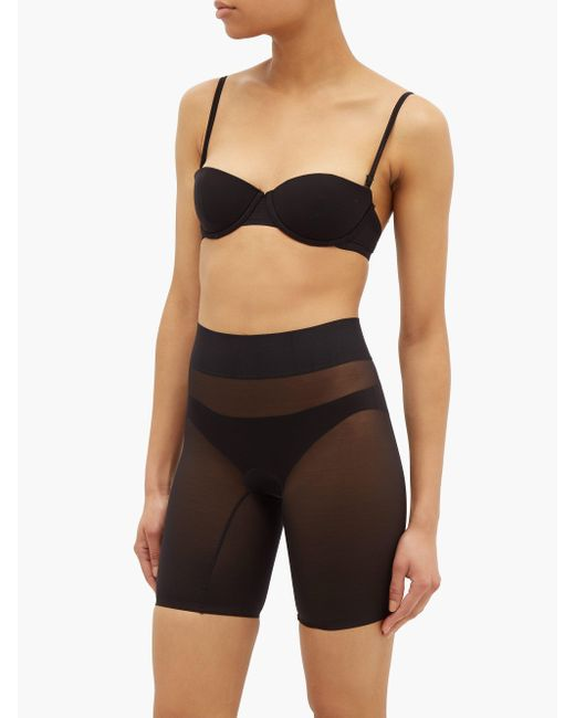 Wolford Sheer Touch シェイプウェア ショートパンツ Black