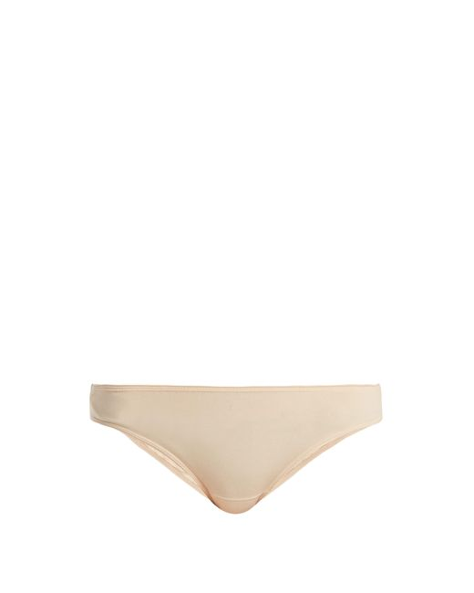 Bodas - Natural Cotton Basics Mini Briefs - Lyst