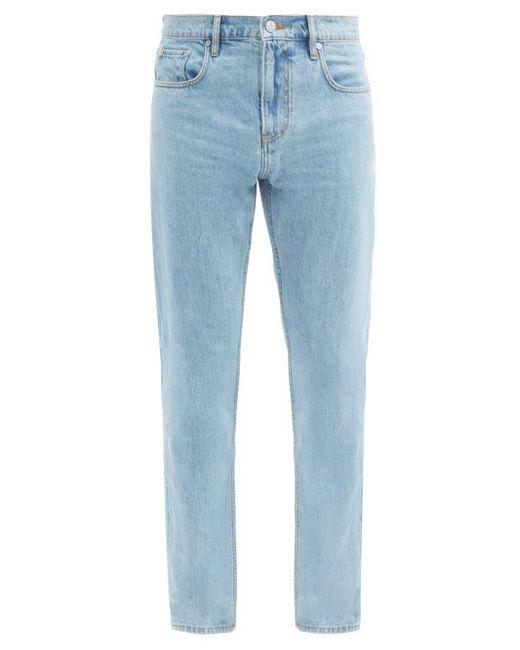 メンズ Burberry ストレートジーンズ Blue
