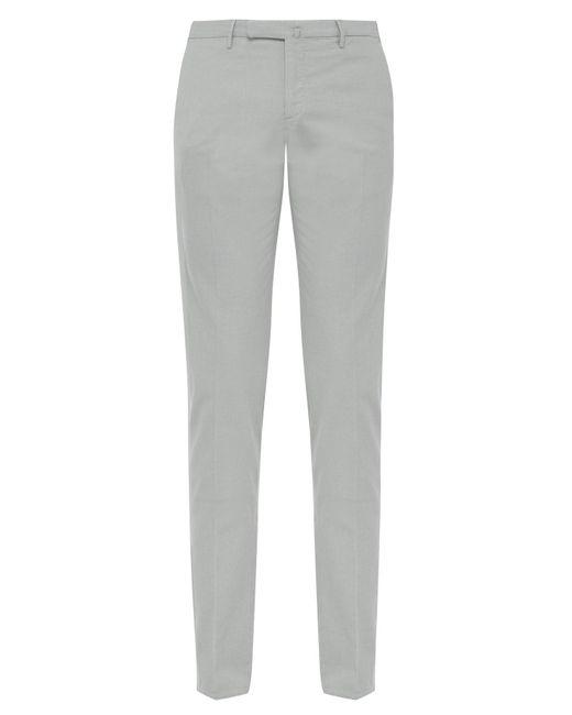 36eb5b7a45b9 Incotex - Blue Slim Leg Cotton Blend Chino Trousers for Men - Lyst ...