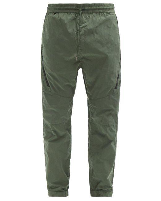 メンズ C P Company テクニカルカーゴパンツ Green
