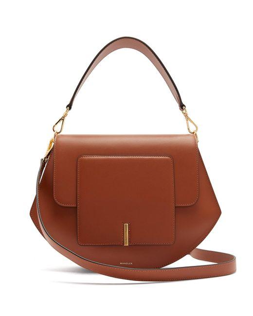 Wandler Brown Al Leather Cross-body Bag