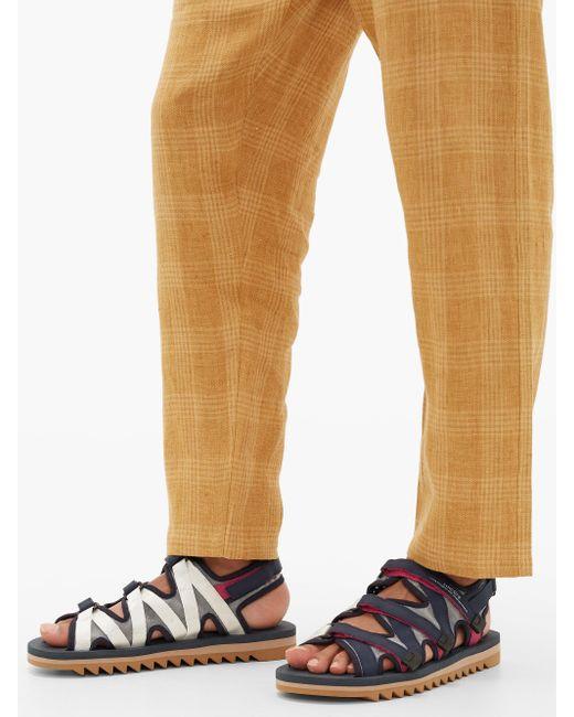 メンズ Suicoke Zip マルチストラップ テクニカルキャンバスサンダル Multicolor