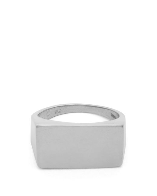 Jessica Biales | Metallic Sterling-silver Ring | Lyst
