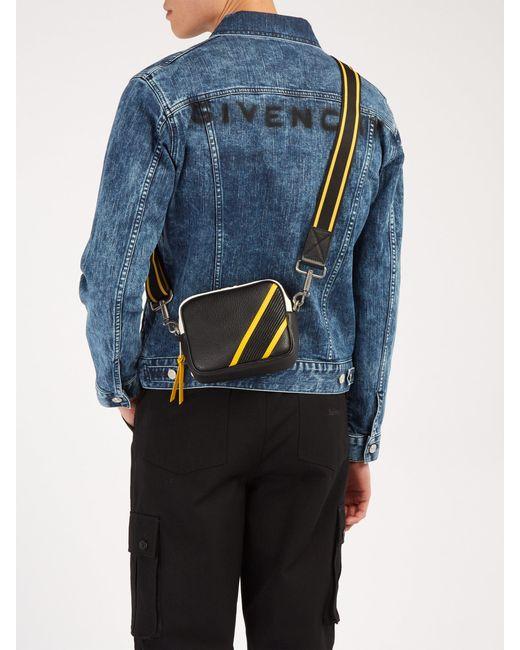 3d04e4aa87 Sac bandoulière en cuir MC3 Givenchy pour homme en coloris Noir - Lyst