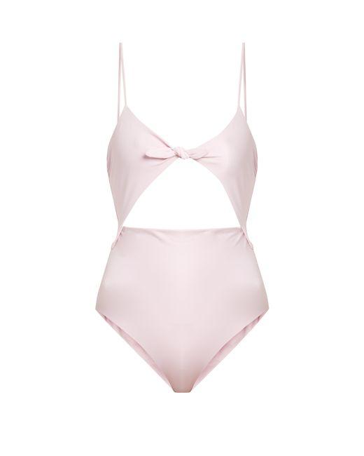 Mara Hoffman - Pink Kia Cut Out Swimsuit - Lyst