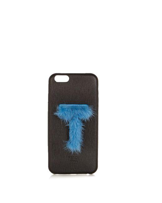 Fendi Multicolor Leather Iphone® 6 Case