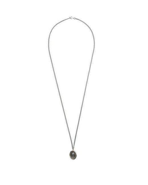 Miansai - Metallic Palm Tree Pendant Sterling-silver Necklace for Men - Lyst