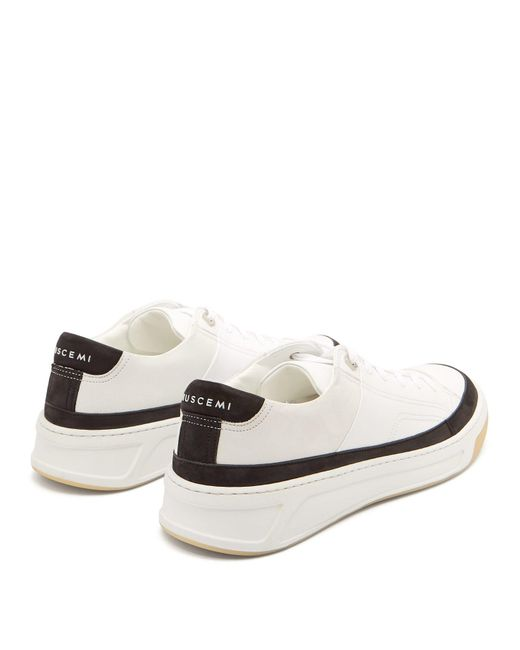 Prodigy Men's Low Sneakers Top Leather White mY6gvfy7Ib