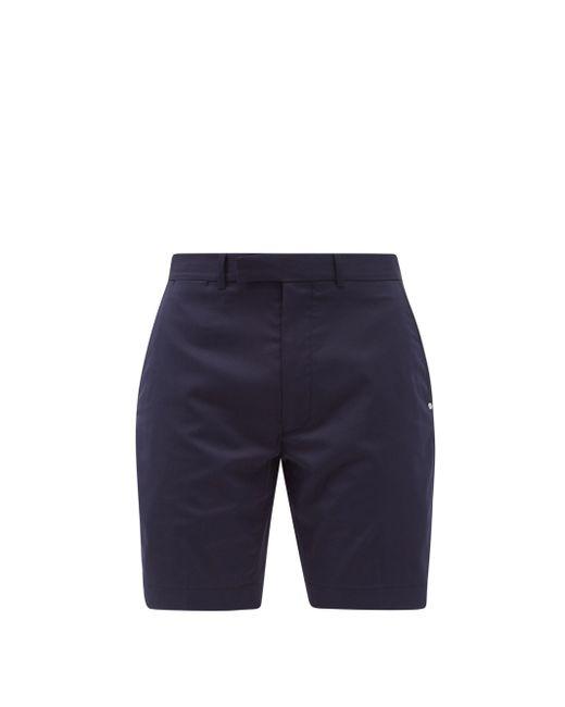 メンズ Polo Ralph Lauren ミッドライズツイル スリムショートパンツ Blue