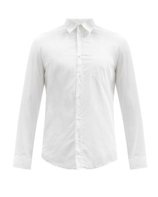 Maison Margiela White Cotton-poplin Shirt for men