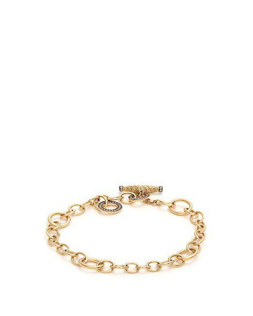 Annoushka - Metallic X Vampire's Wife Diamond & Yellow-gold Bracelet - Lyst