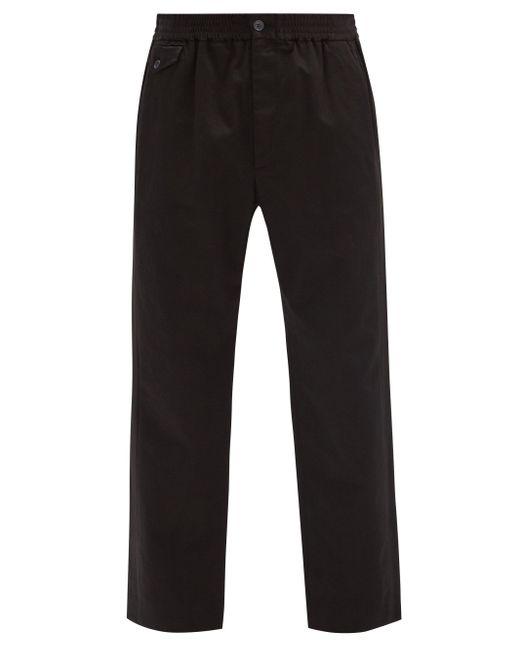 メンズ Gucci コットンツイルパンツ Black