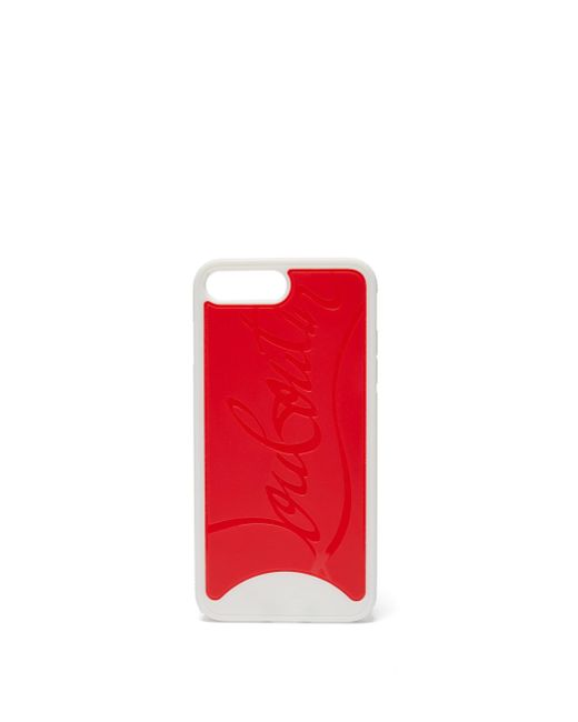 Christian Louboutin Loubiphone Sneakers Iphone 7&8 Plus ケース Red