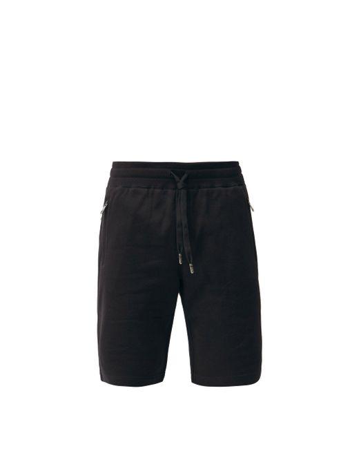 メンズ Dolce & Gabbana ロゴ コットンショートパンツ Black