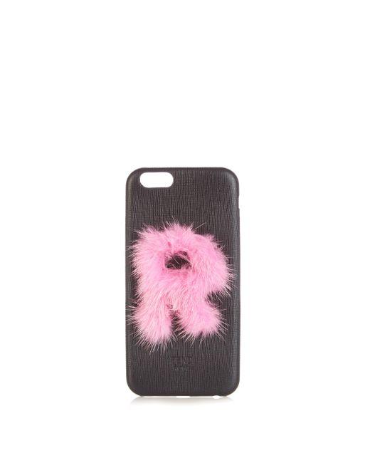 Fendi Black Leather Iphone® 6 Case