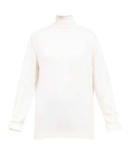 The Row アンドレット タートルネックセーター Multicolor