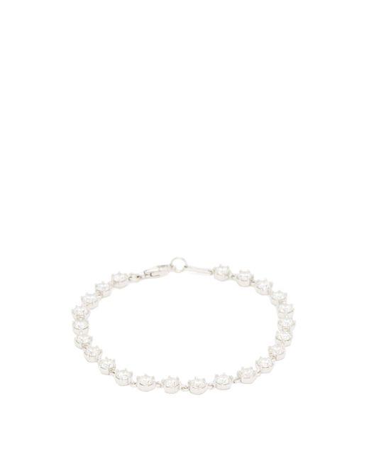 Jade Trau ペネロペ ダイヤモンド 18kホワイトゴールドブレスレット Multicolor