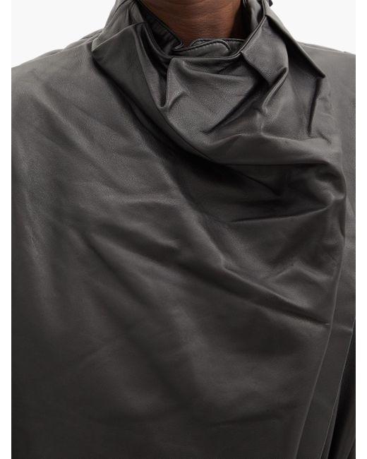 Dodo Bar Or シッター ドレープ レザードレス Black