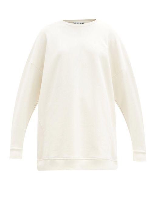 Ganni ソフトウェア リサイクルコットンブレンド スウェットシャツ Multicolor