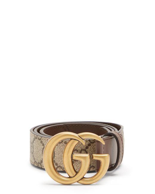 Gucci GGスプリーム レザーベルト Multicolor