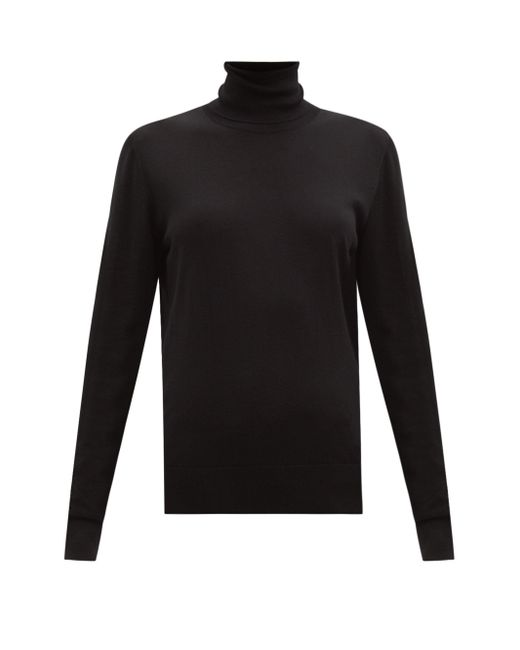 Dolce & Gabbana タートルネック ウールセーター Black