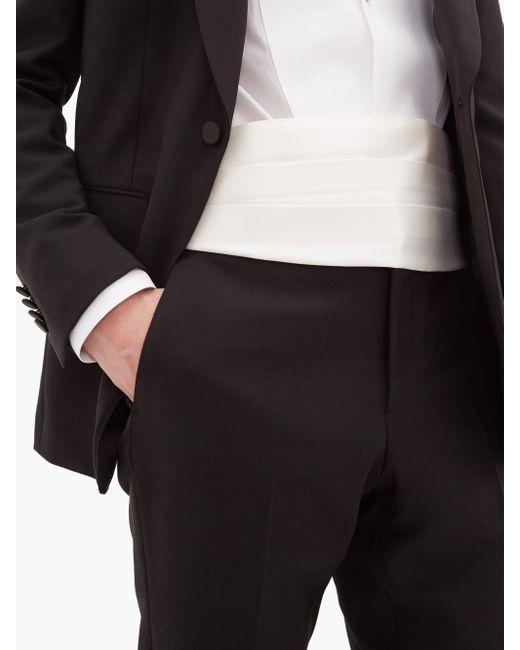 メンズ Givenchy シルクファイユ カマーバンド Multicolor