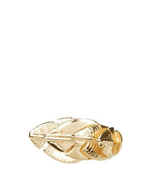 Aurelie Bidermann - Metallic Talitha Gold-plated Ring - Lyst