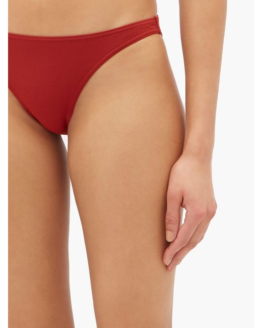 Bikini bandeau Show Duni Eres en coloris Red