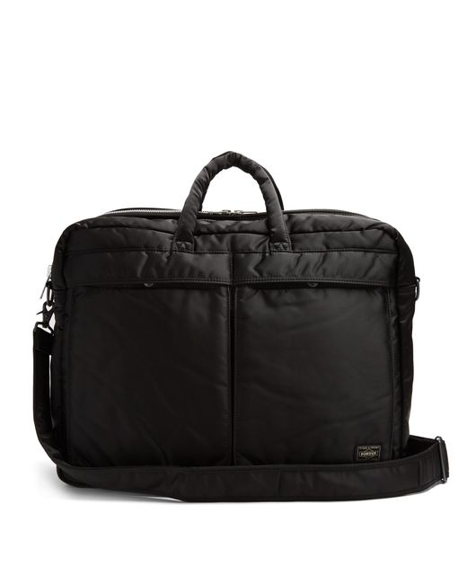 Porter | Black Tanker Nylon Holdall for Men | Lyst