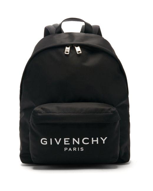 メンズ Givenchy アーバン キャンバスバックパック Black