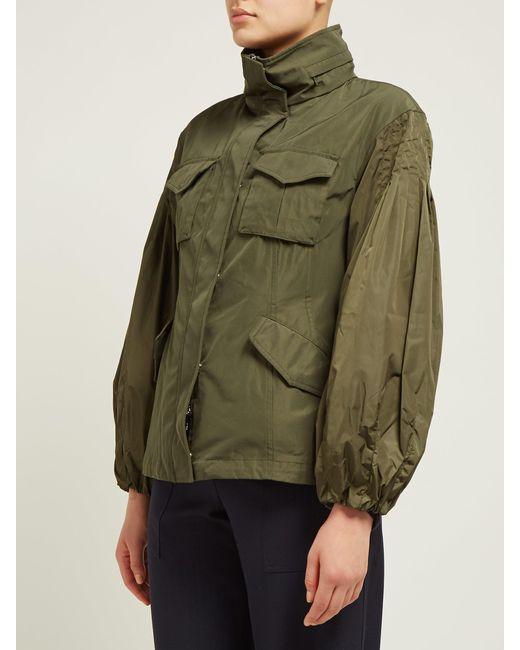 f384ff6c9 Women's Green Santose Technical Gabardine Jacket