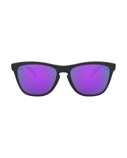 OCCHIALE Frogskins VIOLET IRIDIUM di Oakley in Purple