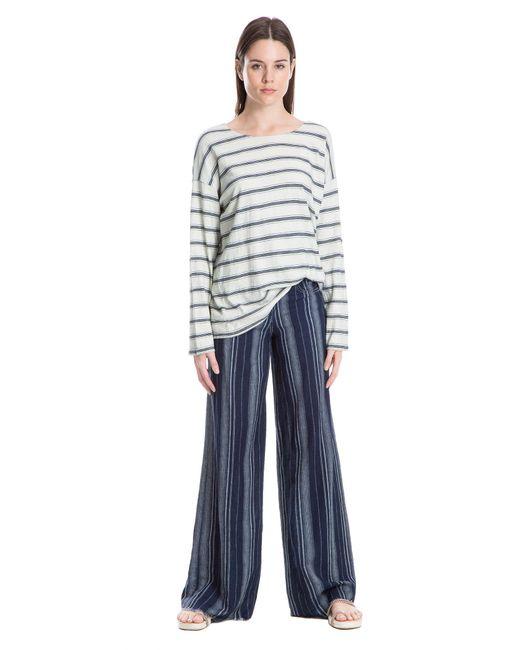 Leon Max - Multicolor Cotton Striped Top - Lyst