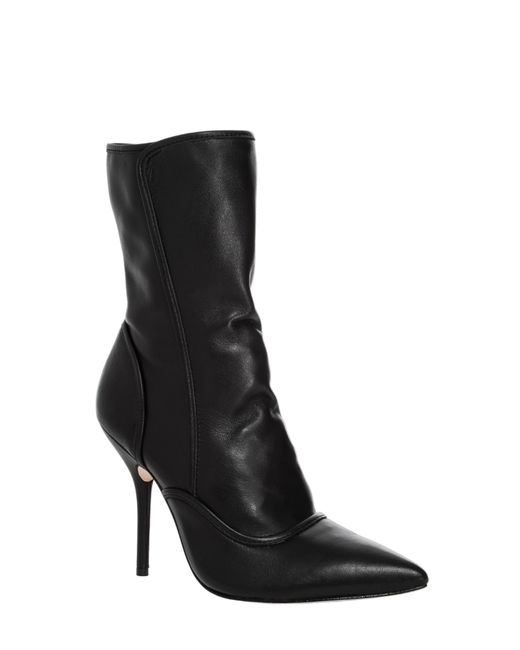 Leon Max | Black Iggy Soft Leather High Heeled Booties | Lyst