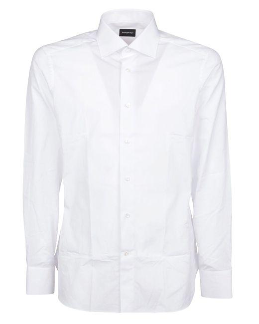 COTONE BIANCO di Ermenegildo Zegna in White da Uomo