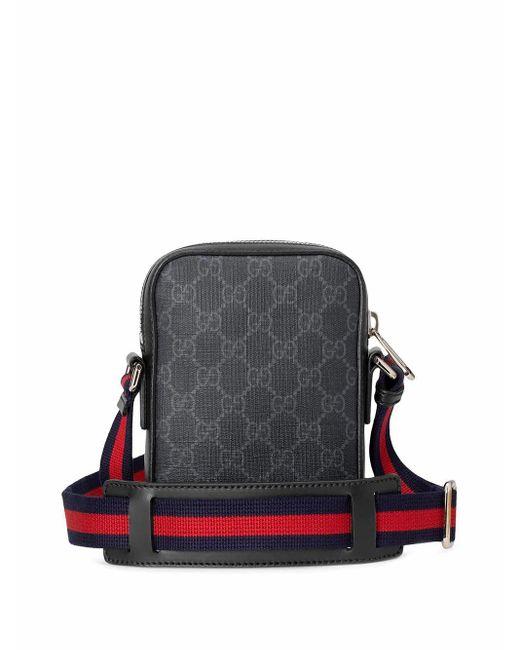 Gucci Umhängetasche aus GG Supreme in Black für Herren