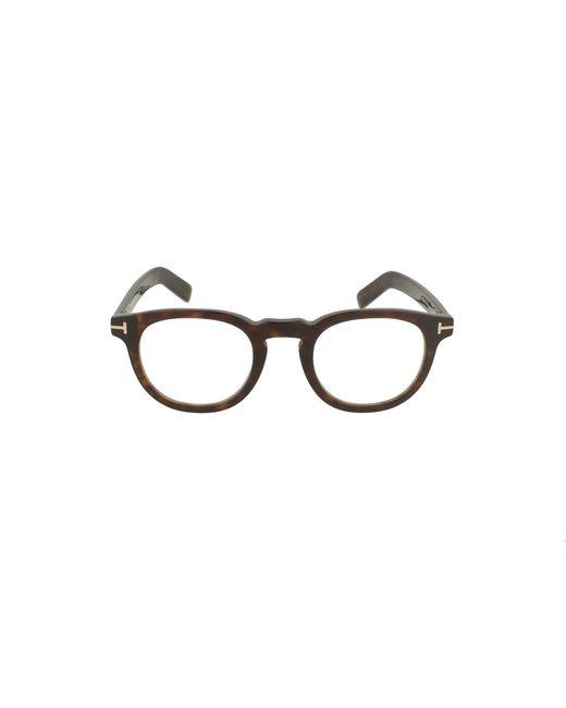 Tom Ford Men's Ft5629b052 Brown Acetate Glasses for men
