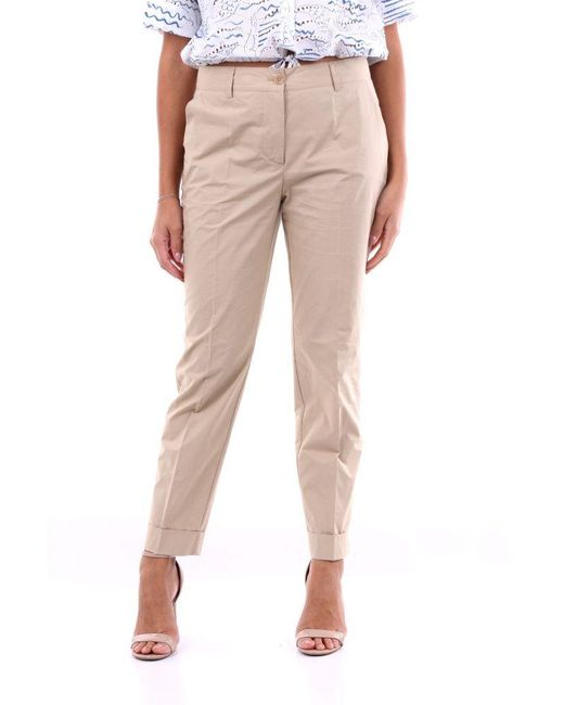 P.A.R.O.S.H. Natural CANYOND231021 BAUMWOLLE HOSE