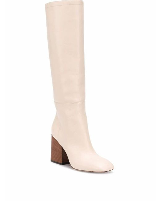 Marni White Leather Boots